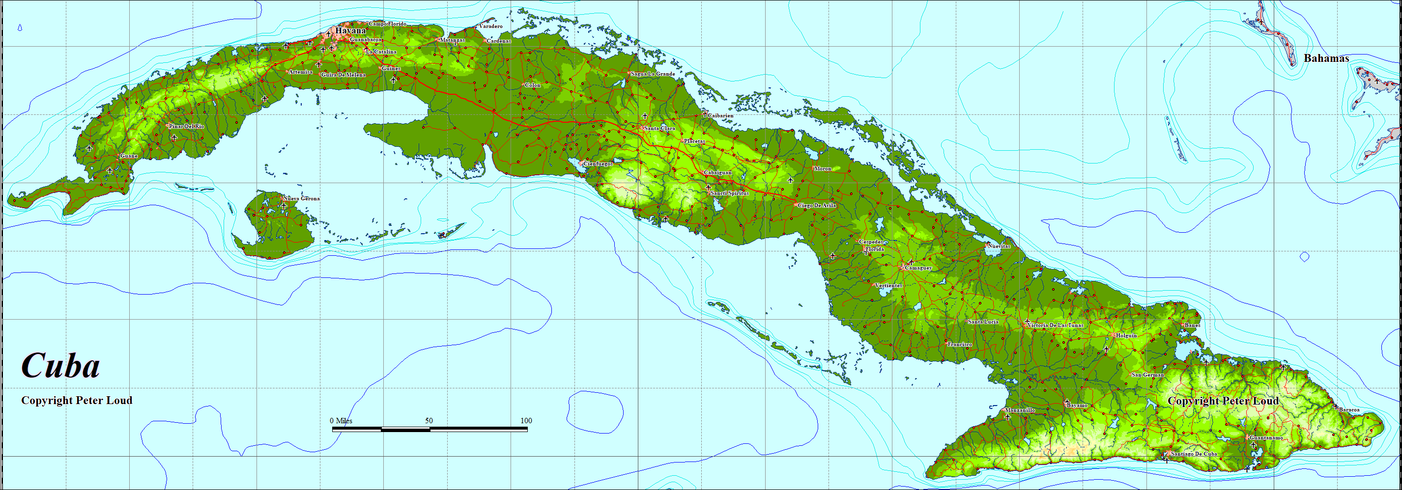 Maps of cuba peter loud map of cuba gumiabroncs Gallery