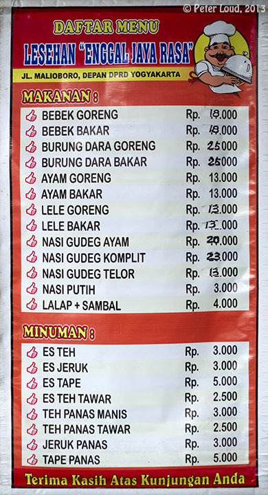 PRICE INDONESIA