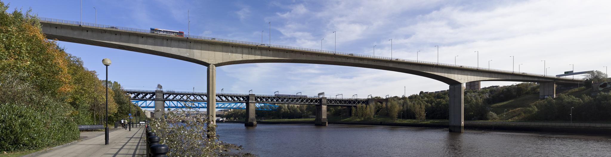 Photographs of Tyne Bridges, Newcastle by Peter Loud