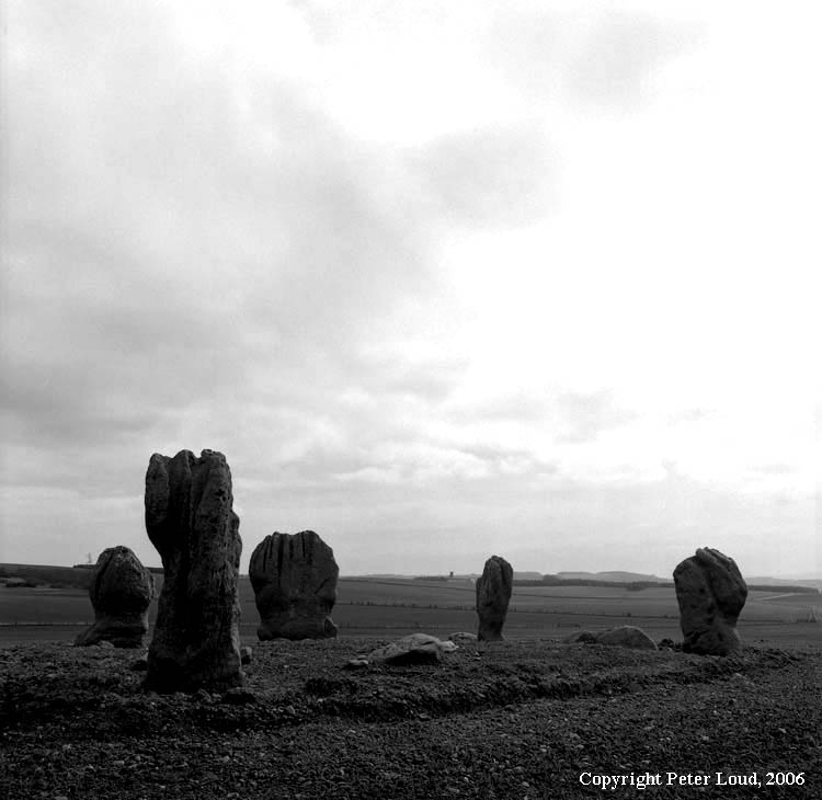 Photographs by peter loud bronze age stone circle and